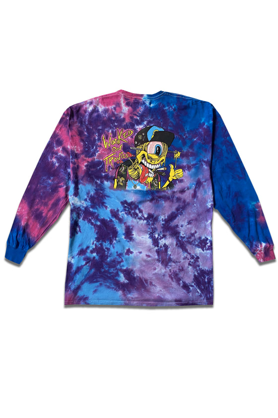 PRE ORDER - Subtronics - Wooked On Tronics - Tie Dye Long Sleeve
