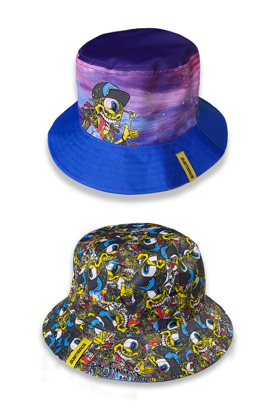 PRE ORDER - Subtronics - Wooked On Tronics - Reversible Bucket Hat