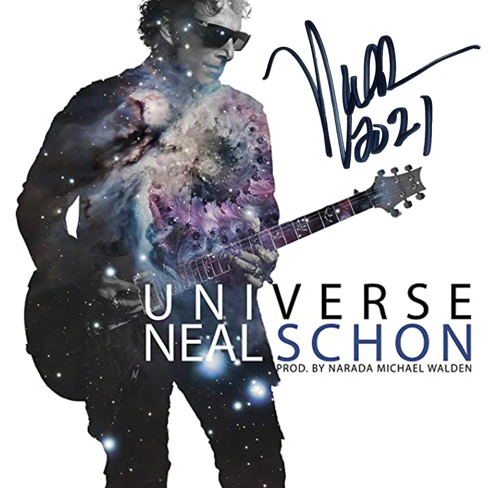 Limited Edition Signed Universe CD