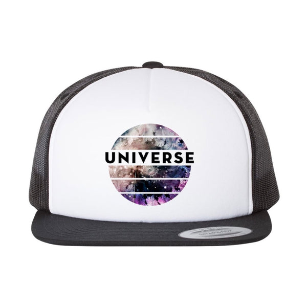 Black/White Universe Hat
