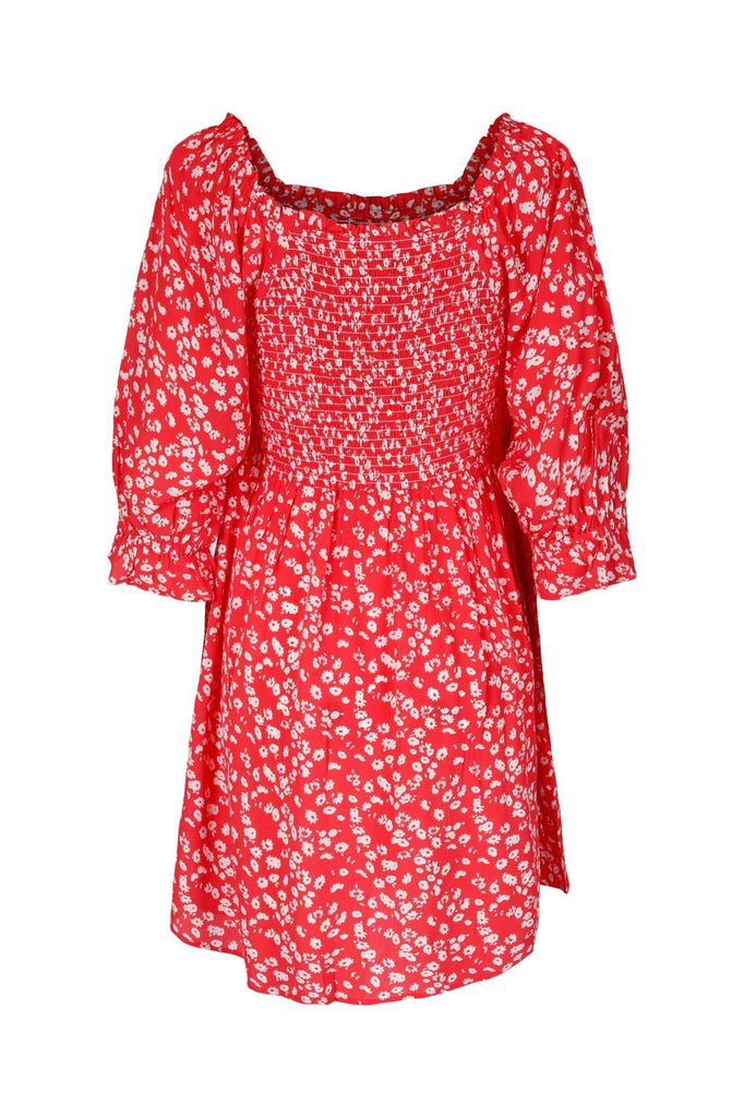 Bella Dress Strawberry - Kjoler