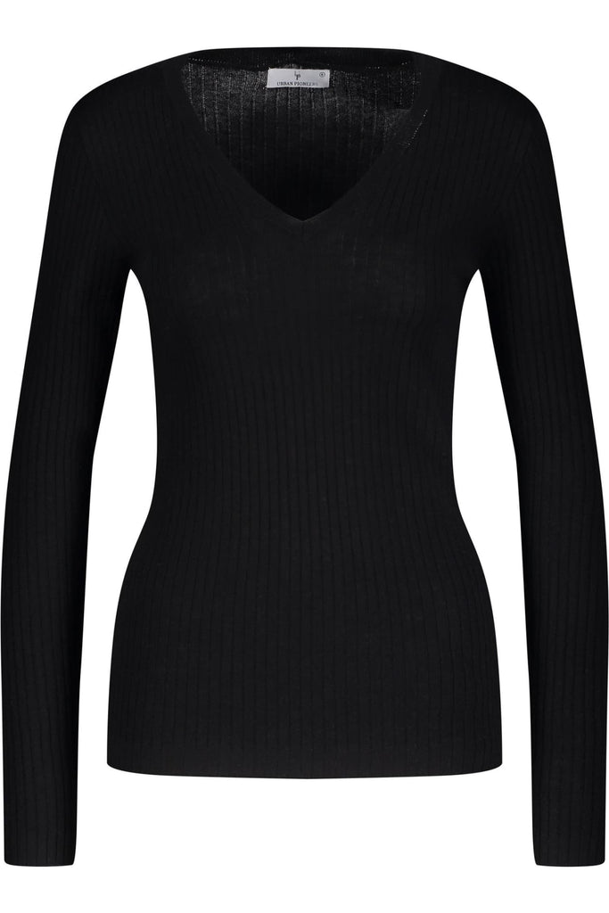 Marit V-neck - Overdeler