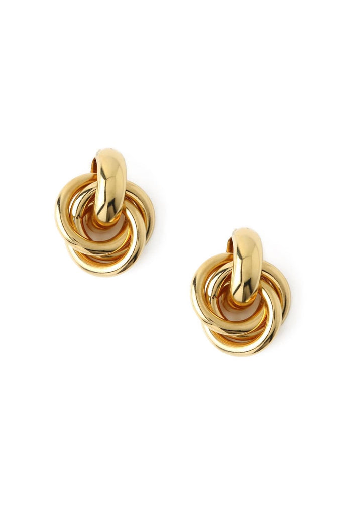 Statement Interlocking Earrings - Tilbehør