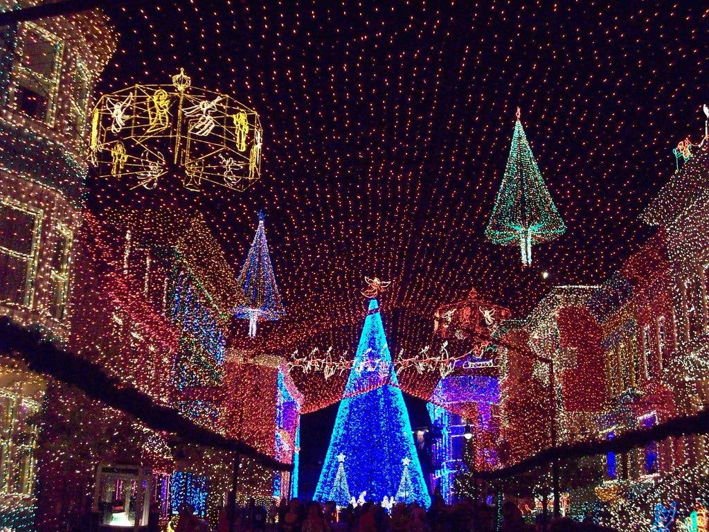 Christmas decoration all around the world - Osborne Family Spectacle Of Dancing Lights Walt Disney World Hollywood