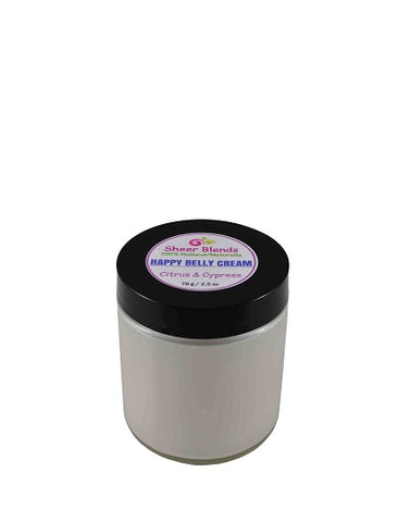 Happy Belly Cream, Sheer Blends, 100% natural, vegan & gluten-free