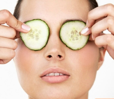 Puffy Eyes Remedy - Cucumbers