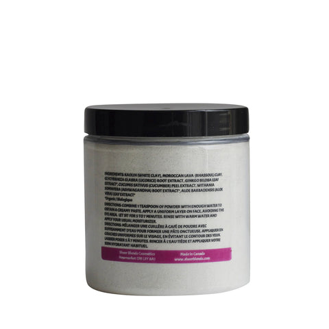 Cleansing Facial Mask with Plant Extracts & Clay for Dry, Sensitive or Aging Skin - Sheer Blends