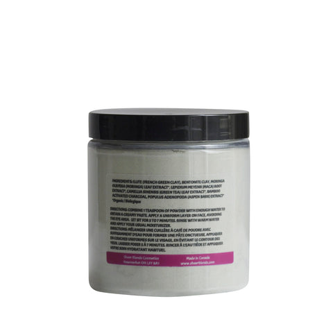 Purifying Facial Mask with Plant Extracts & Clay for Normal to Oily or Acne-Prone Skin