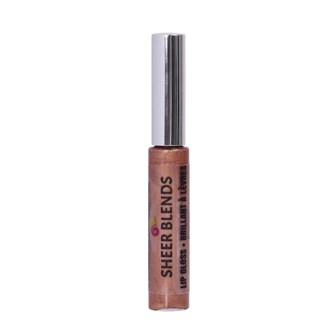 Sheer Blends, Natural, Vegan, Gluten-Free, Cruelty-Free Lip Gloss, Copper