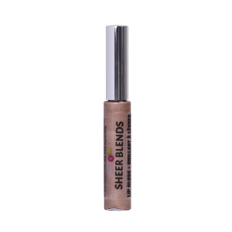 Sheer Blends, Natural, Vegan, Gluten-Free, Cruelty-Free Lip Gloss, Nude