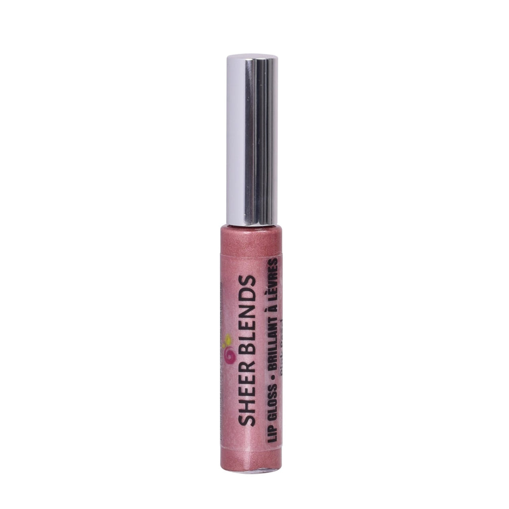 Sheer Blends, Natural, Vegan, Gluten-Free, Cruelty-Free Lip Gloss, Pink Pearl
