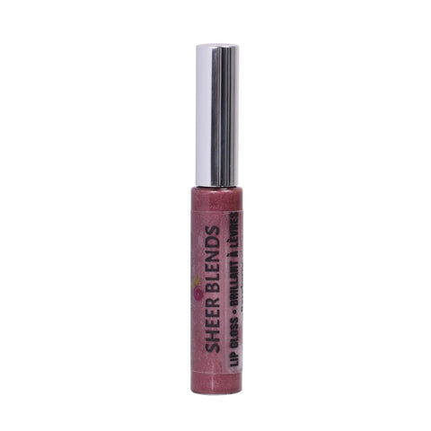 Sheer Blends, Natural, Vegan, Gluten-Free, Cruelty-Free Lip Gloss, Raspberry