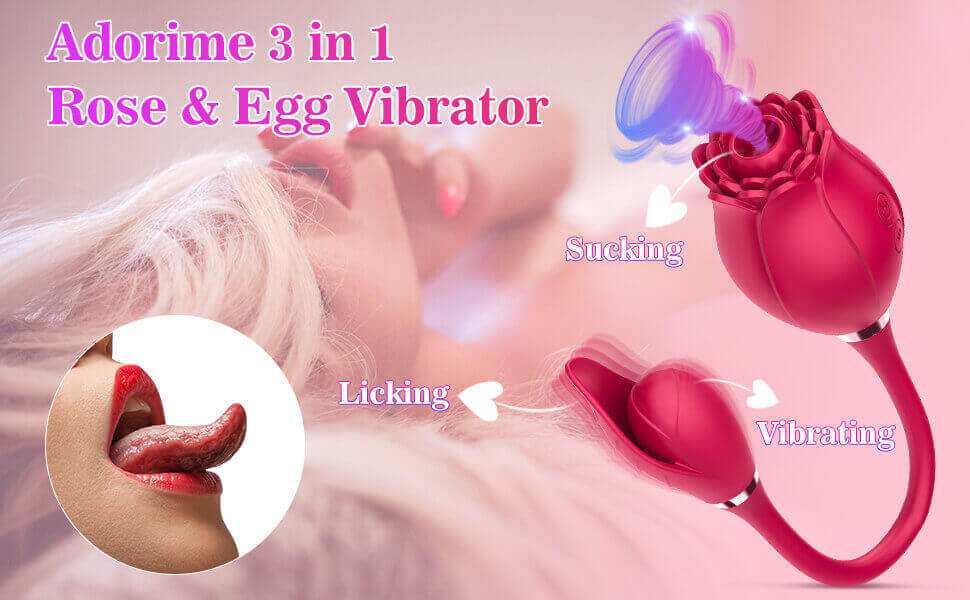 rose toy with bullet vibrator