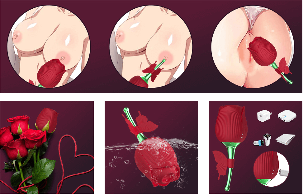 """<img src= """"the rose toy.jpg"""" alt= """"the rose sex toy with butterfly flap"""">"""