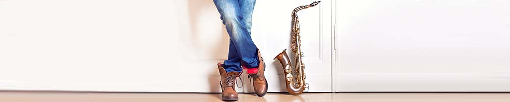 saxophone - stand