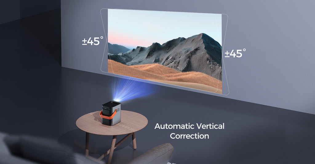 automatic correction projector
