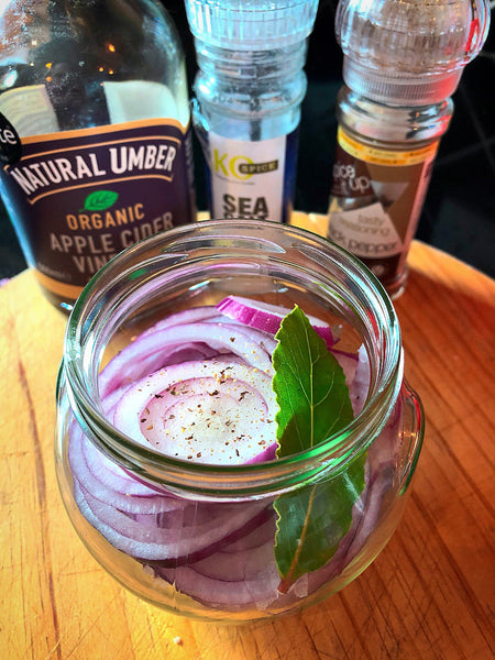 Pickled red onion recipe ingredients