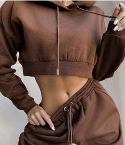 hirigin 2020 Winter Fashion Outfits for Women Tracksuit Hoodies Sweatshirt and Sweatpants Casual Sports 2 Piece Set Sweatsuits