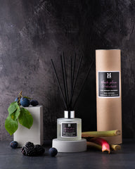 Henry & Co home fragrance black plum and rhubarb reed diffuser