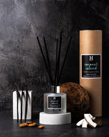 Coconut island Henry and co reed diffuser