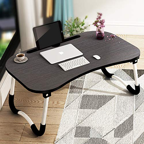 Foldable laptop and study table