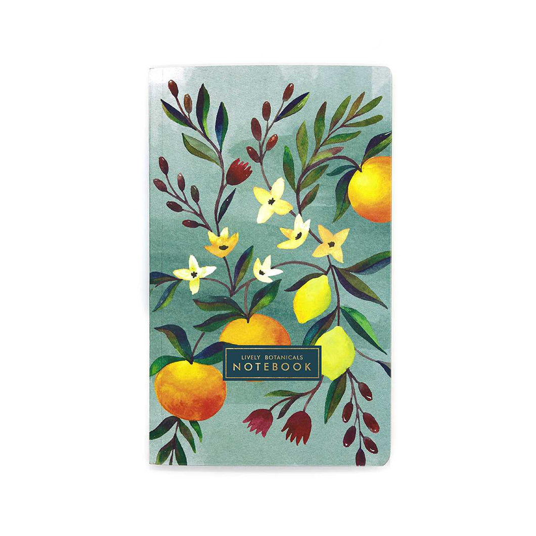 Lively Botanicals NoteBook Summer