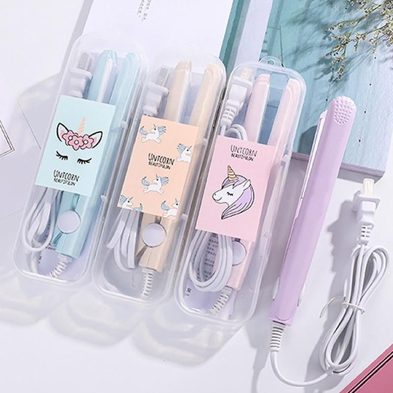 Unicorn hair straightener and tong