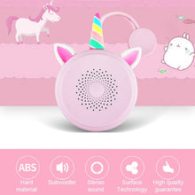 Load image into Gallery viewer, Unicorn Bluetooth speaker