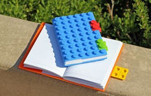 Load image into Gallery viewer, A5 Block Notebook Notebook block A4 multicolour attractive gifting work lego stylish flap book