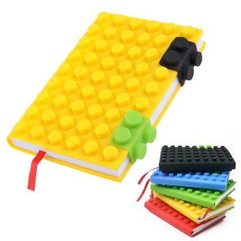 A5 Block Notebook Notebook block A4 multicolour attractive gifting work lego stylish flap book