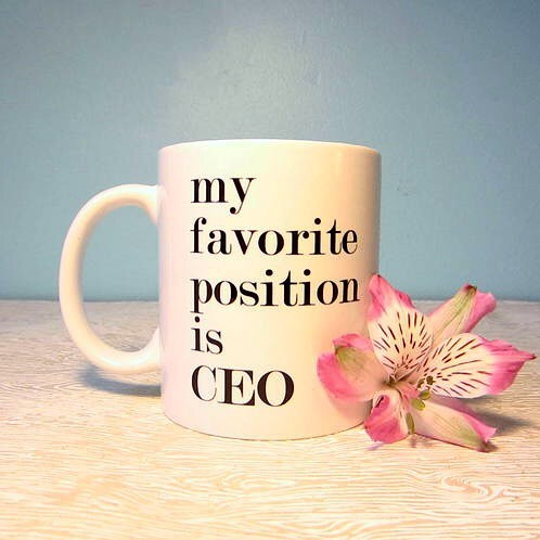 Best Position CEO Mug mug cup gift bf