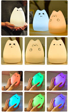 Load image into Gallery viewer, Cute silicon lamp : Cat