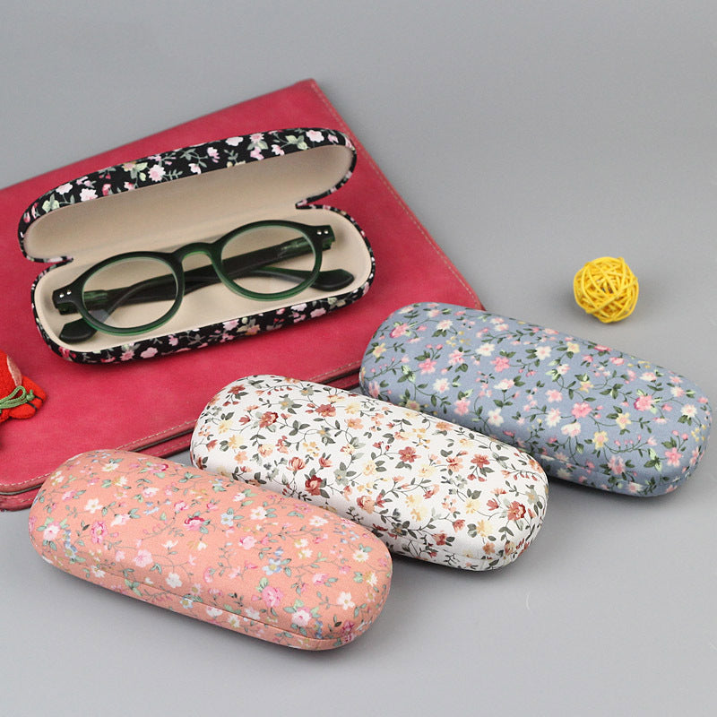 floral eye wear case