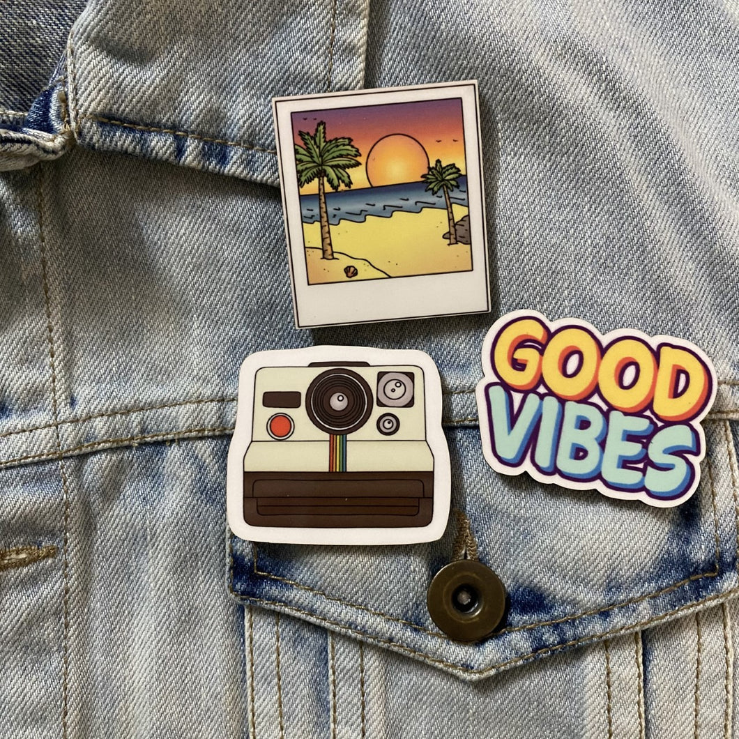 Vibes Set of 3 PIN/BROOCH