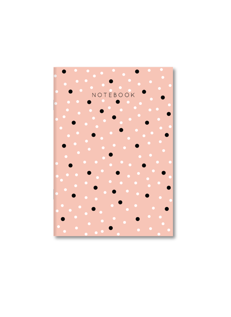 Cookie Pie A4 Size Soft Bound Notebook Ruled Plain