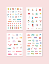 Load image into Gallery viewer, Sticker It s my Life Stickers Pack of 4 A5 Size