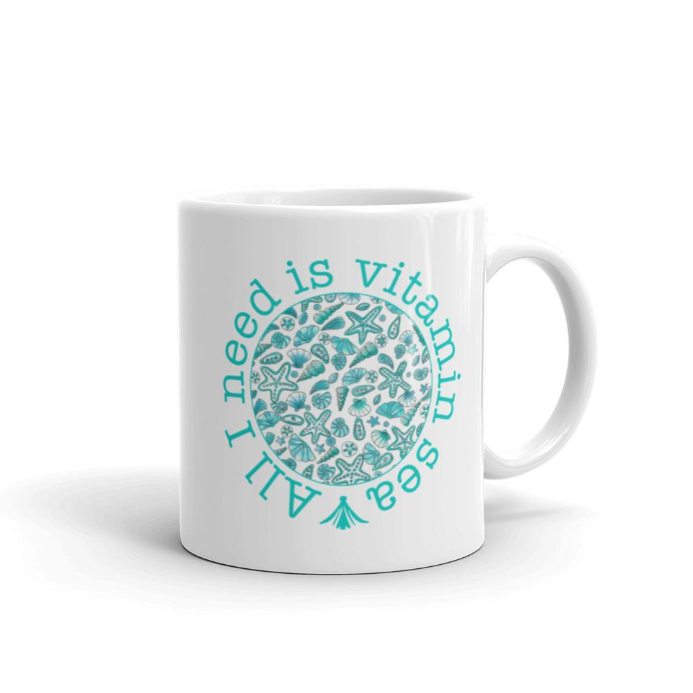All I need id Vitamin Sea Designer Coffee Mug