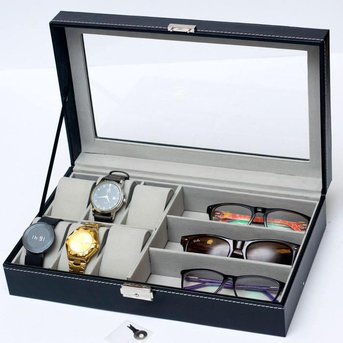 Spectacles and watch box