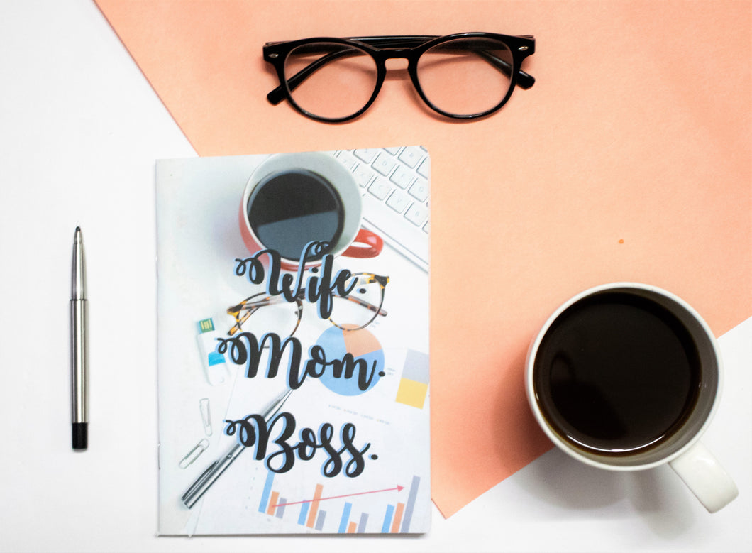 A5 Wife Mom Boss Soft Bound Notebook