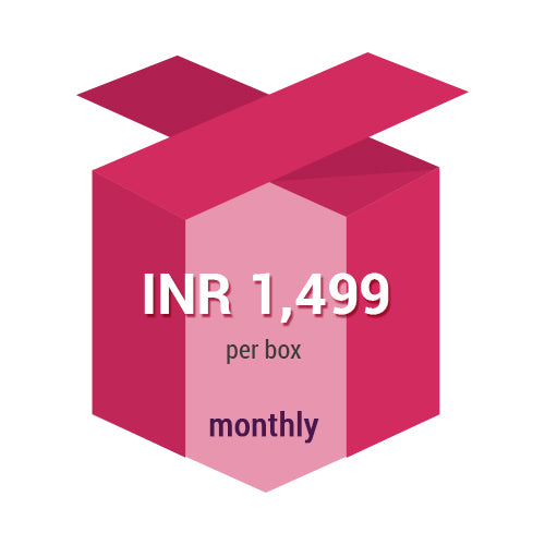 Subscription Plan Monthly 1 box Subscription Plan Monthly