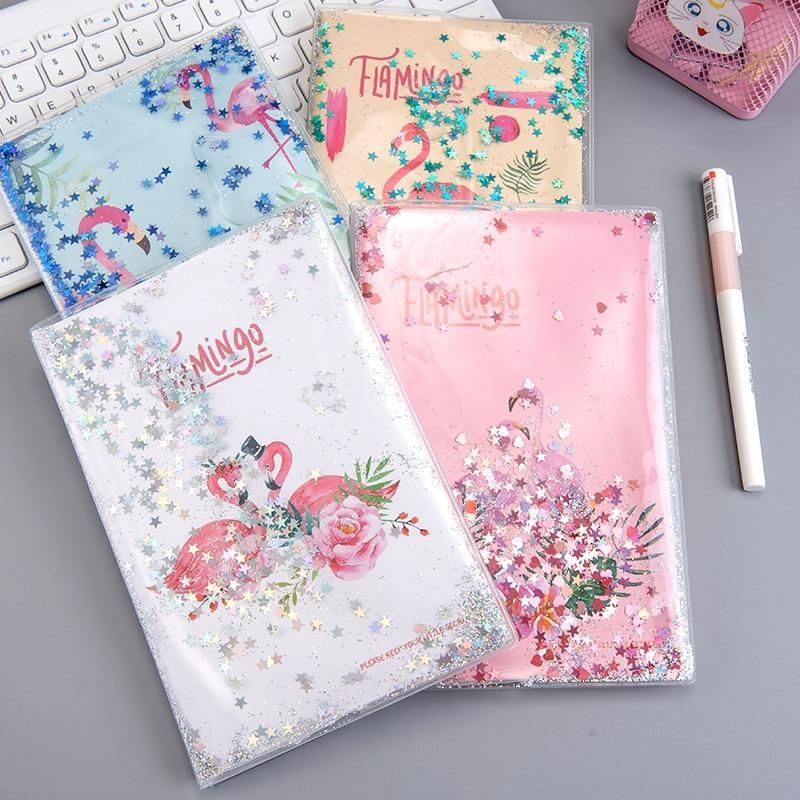 Flamingo water notebook