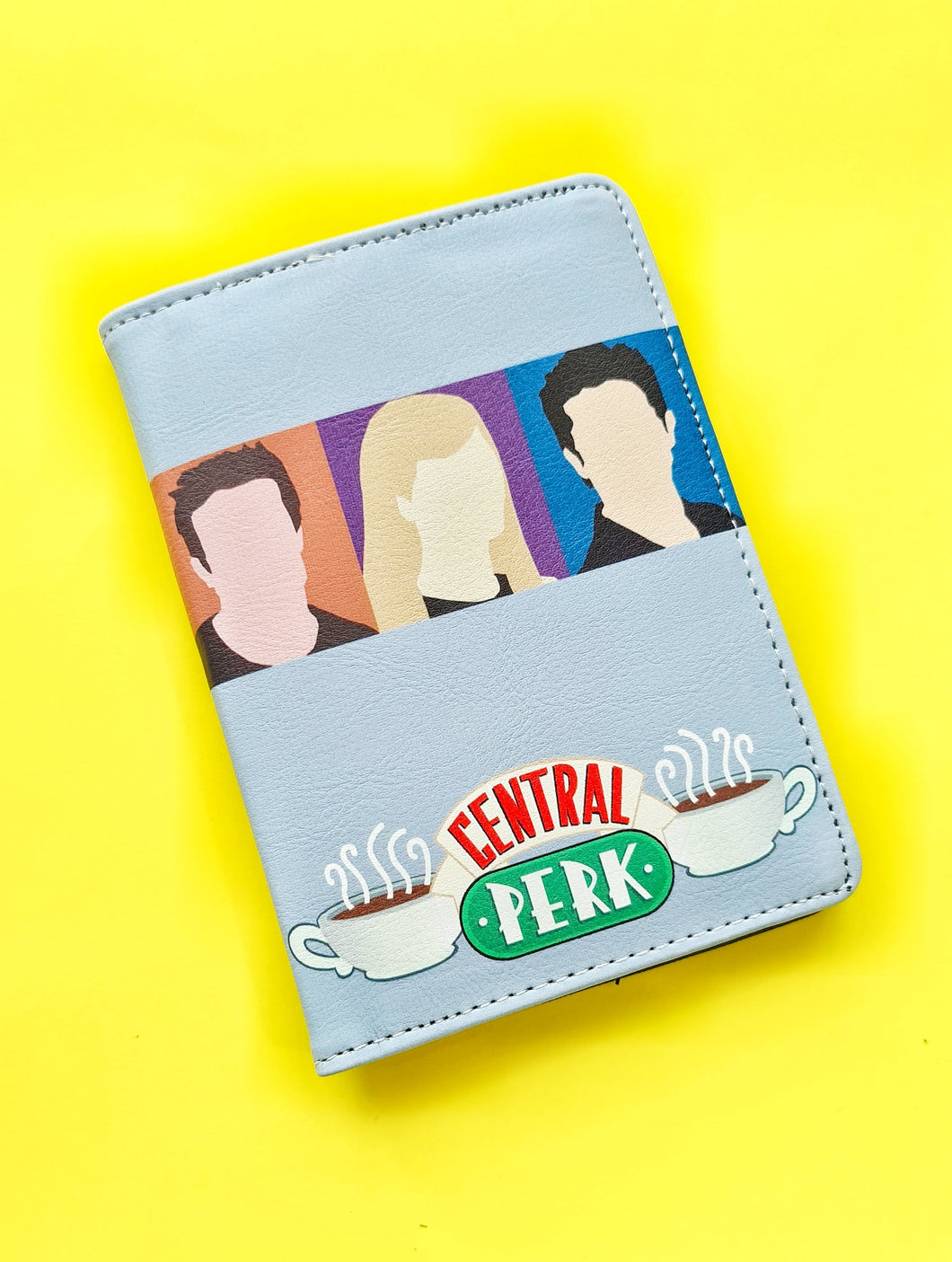 Friends passport cover