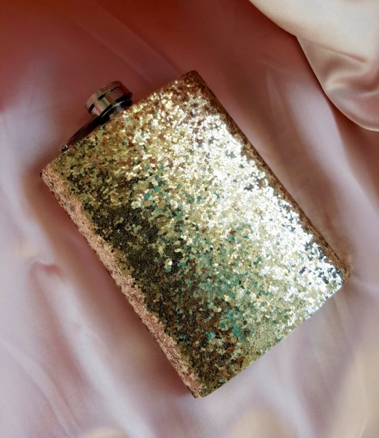 Gold Dust Hip Flask