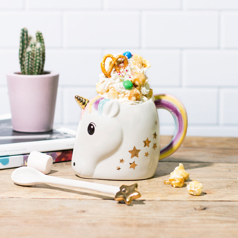 Stars and Unicorn mug