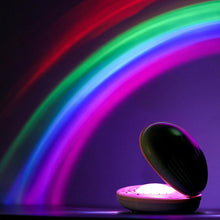 Load image into Gallery viewer, Shell Rainbow light projector
