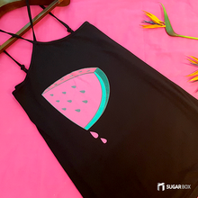 Load image into Gallery viewer, Watermelon Halter dress