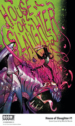 House of Slaughter #1 - Mike Del Mundo
