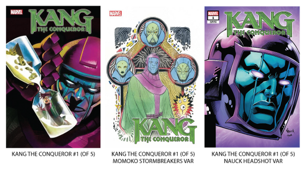 Kang the Conqueror Solo Series Covers