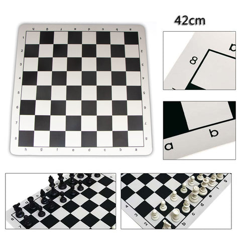 Vegan leather chess board