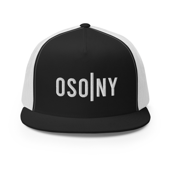 OSONY White Logo Trucker Snapback ( 2 Colors available)